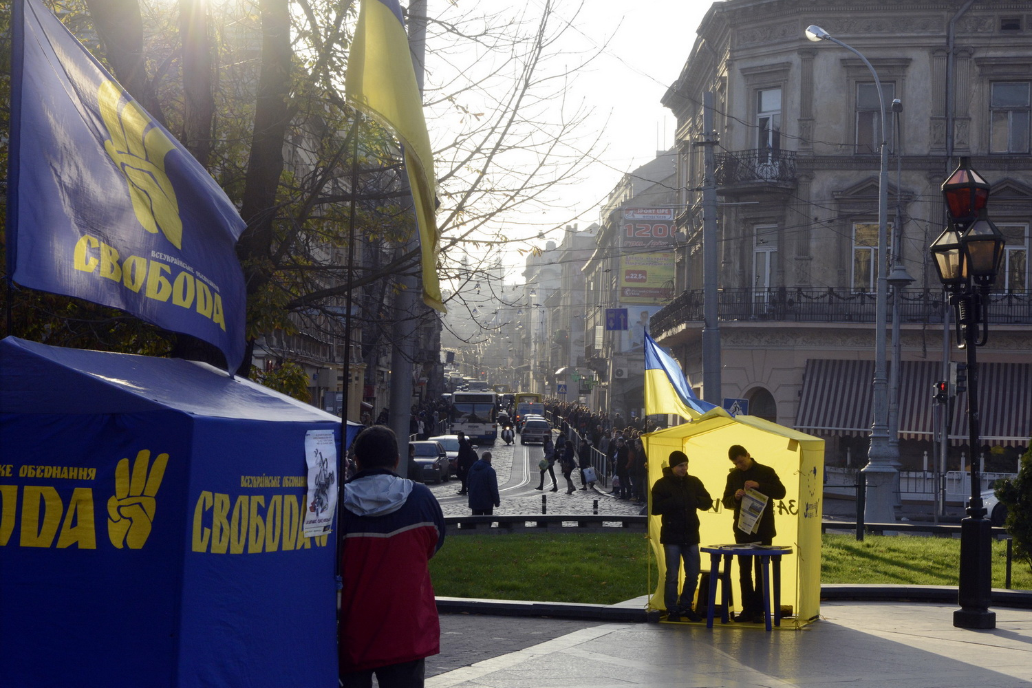 Dolph Kessler - Lviv, during and after Maidan